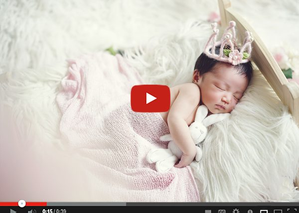 sleeping princess newborn