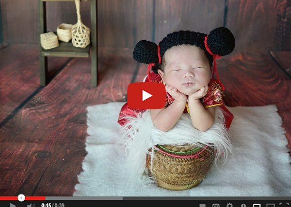 chinese newborn กระติ๊บ