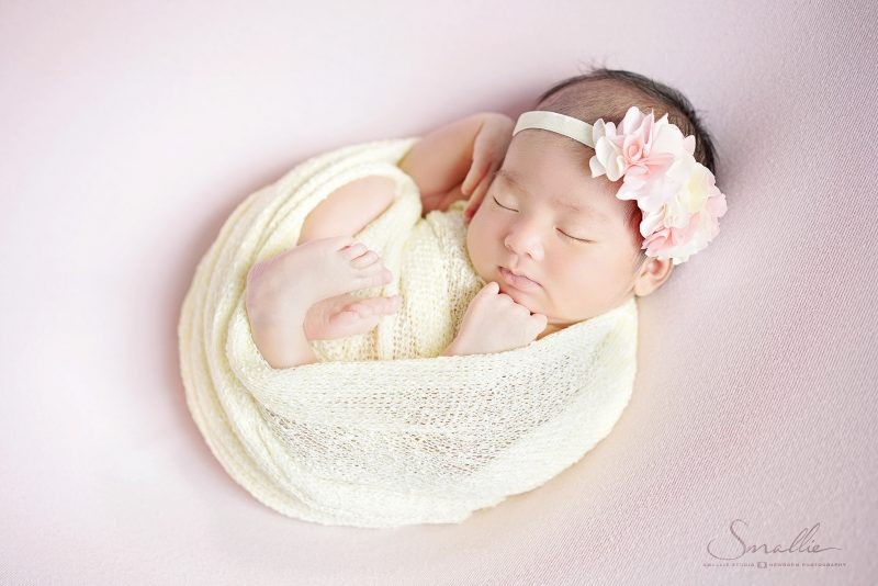 newborn photography butterfly