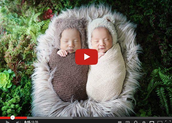 เบื้องหลังการถ่าย แฝดแรกเกิด