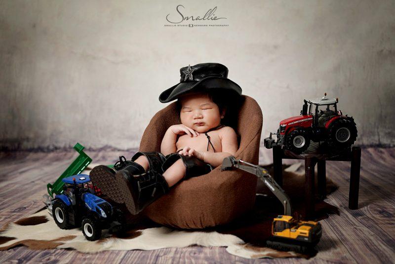 Cow Boy Newborn