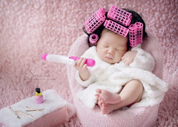 newborn beauty pink salon