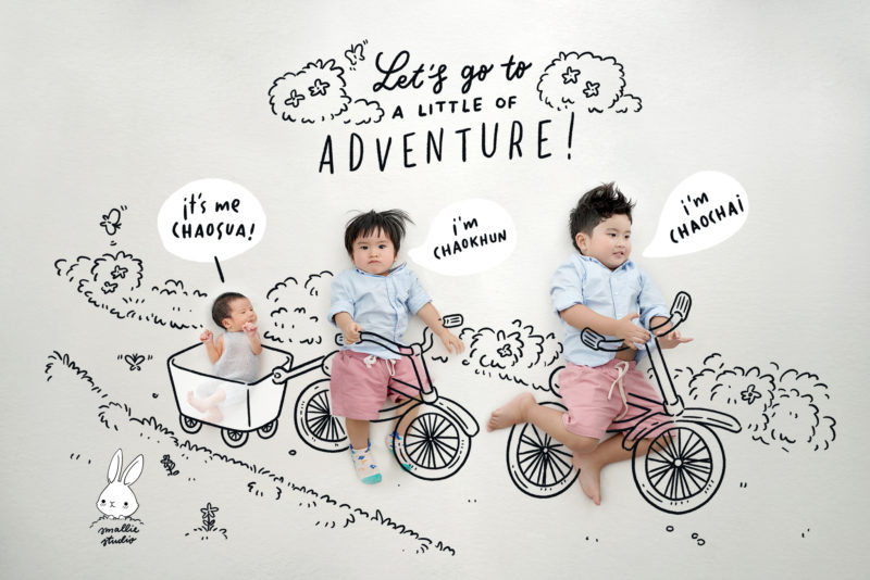 newborn bicycles drawing