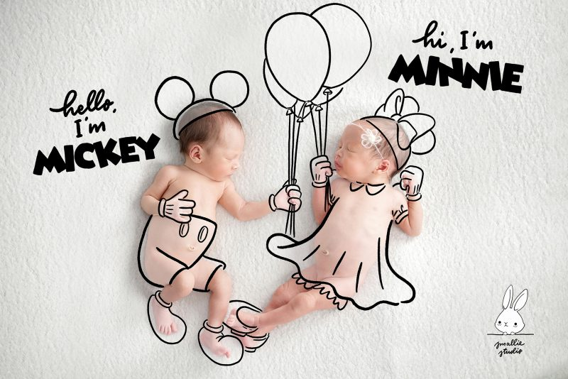 Smallie newborn Rich Drawing