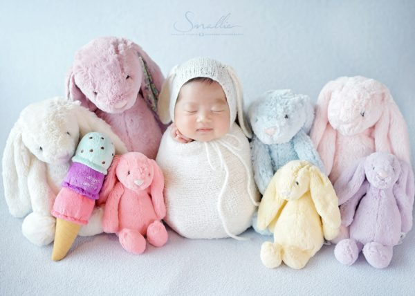 at home newborn Blue Pastel theme