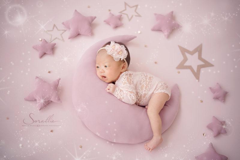 Stellar Space น้องสเตลล่า พี่สเปซ พี่สเปซ เชน ธนา Newborn Custom ถ่ายภาพแรกเกิด
